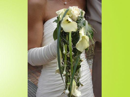 Beispiel: Ihr persönlicher Brautstrauß, Foto: BLUMEN STRAUB.