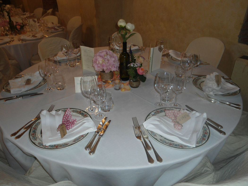 Mise an Place tipica fiorentina - La Buona Tavola Catering&Banqueting Firenze