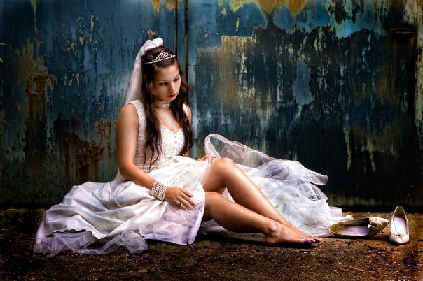 Beispiel: Trash the Dress - Shootings, Foto: Colorwork Photography.