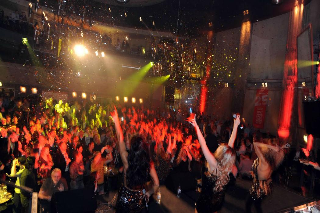 Beispiel: Auftritt, Foto: Hochzeitsband Düsseldorf.