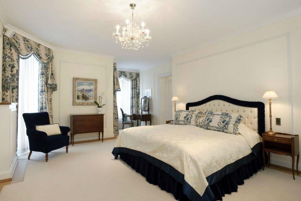 Beispiel: Hotelzimmer, Foto: Badrutt's Palace Hotel.