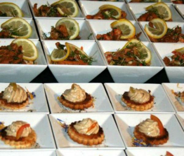 Beispiel: Fingerfood, Foto: Hoffmann Gastronomie & Catering.