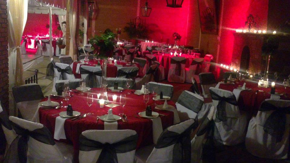Quinta las camelinas bodas for Salon villa jardin morelia