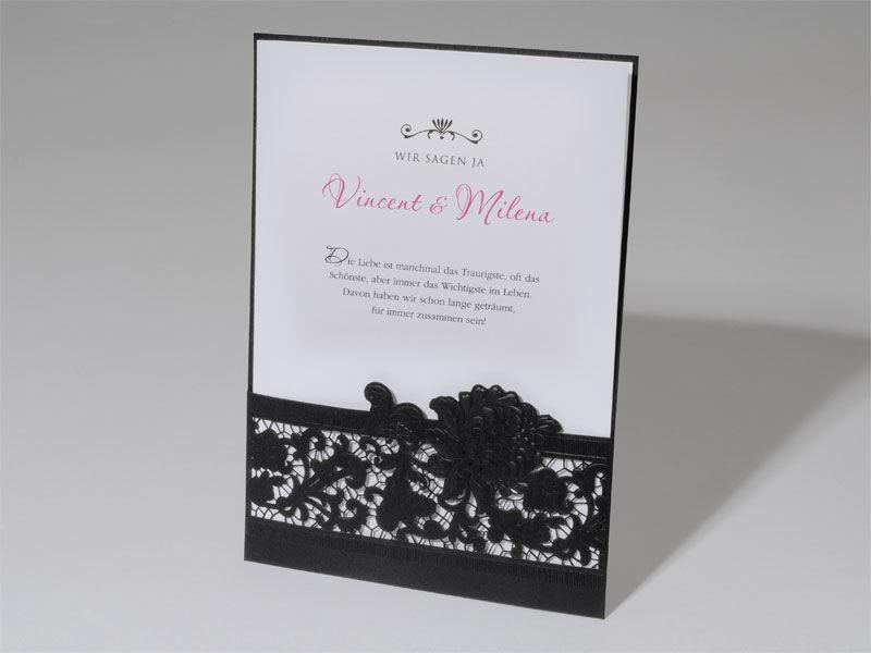 Beispiel: Einladungskarte, Foto: duplex.