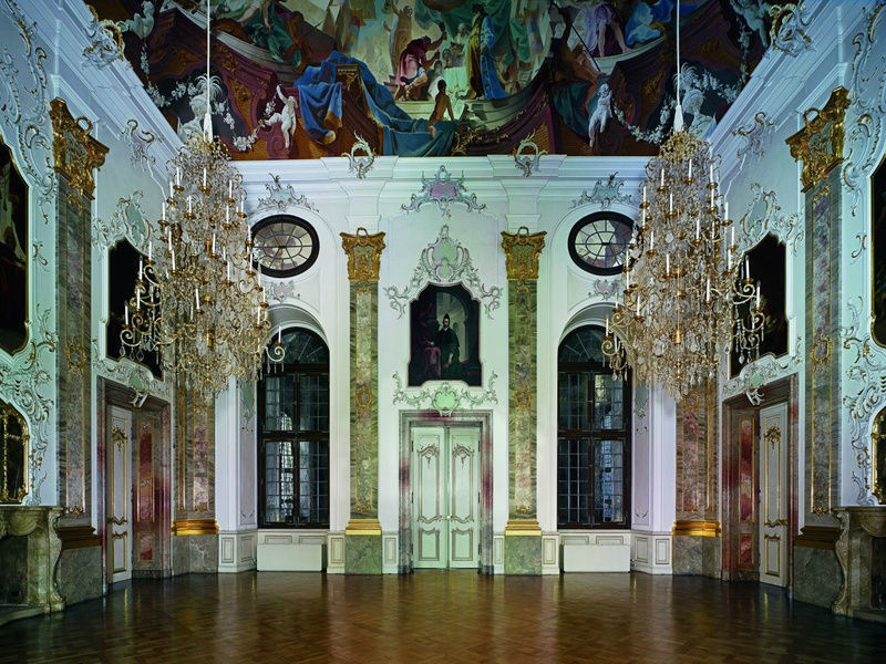 Beispiel: Fürstensaal, Foto: Schloss Bruchsaal.