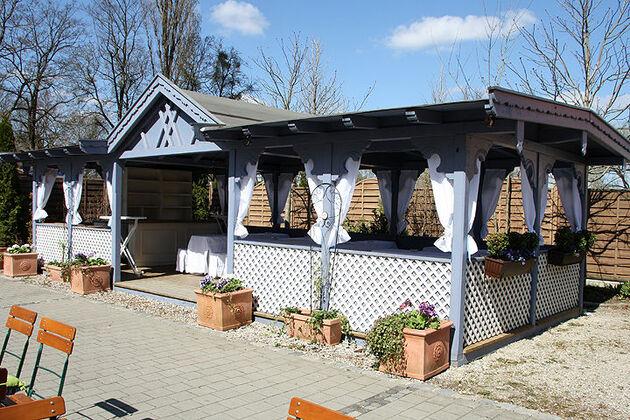 Beispiel: Gastgarten, Foto: Gut Nederling.