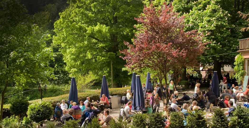 Beispiel: Terrasse - Umgebung, Foto: Waldrestaurant St. Ottilien.