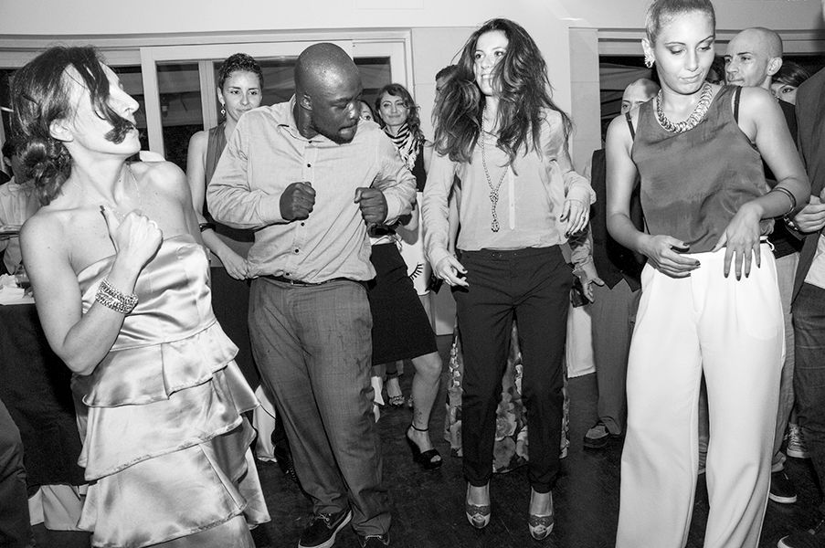 The White Happening: Funky Wedding