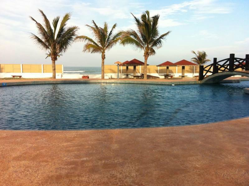 Hermoso Club de Playa. Hotel Doña Juana Cecilia en Tamaulipas