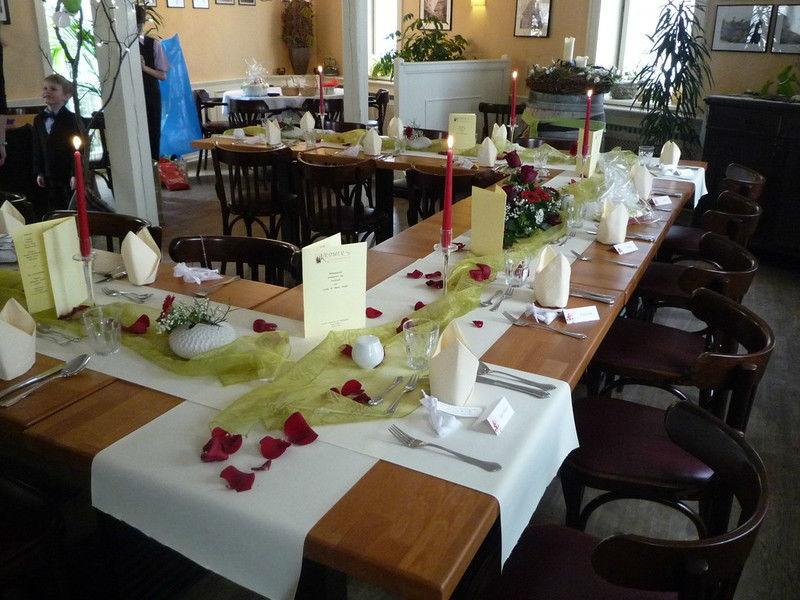 Beispiel: Inennraum - Bankett, Foto: Kromer´s Restaurant & Gewölbekeller.