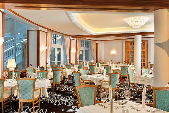Beispiel: Hotelrestaurant Giardino, Foto: Travel Charme Strandidyll Heringsdorf.