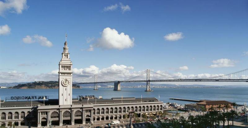 Beispiel: Ausblick aus Hotelzimmer in San Francisco, Foto: Hyatt Hotels.