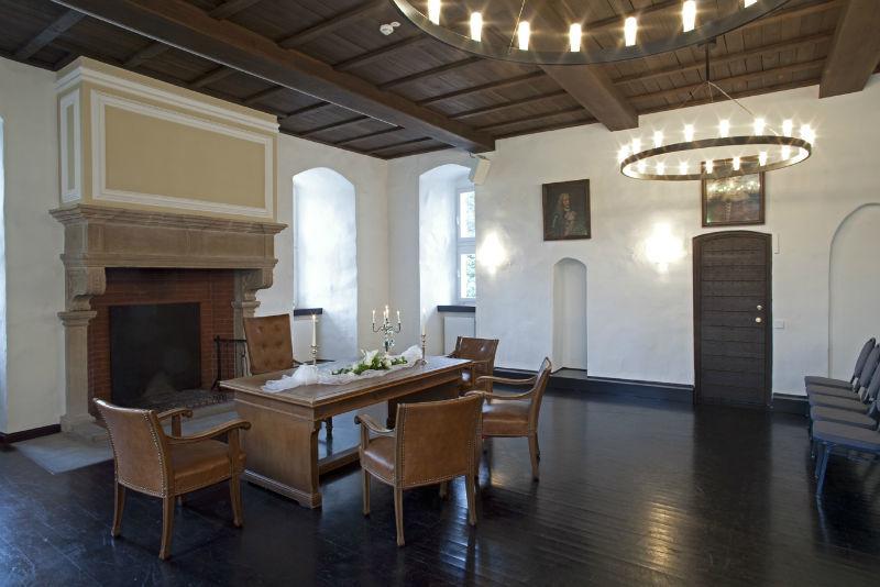 Beispiel: Räumlichkeiten, Foto: Schloss Broich.