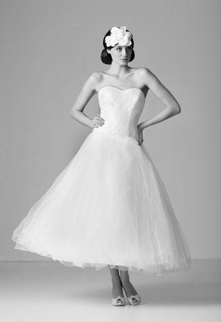 Beispiel: Brautkleid im Vintage-Stil, Foto: Brautatelier Tara.