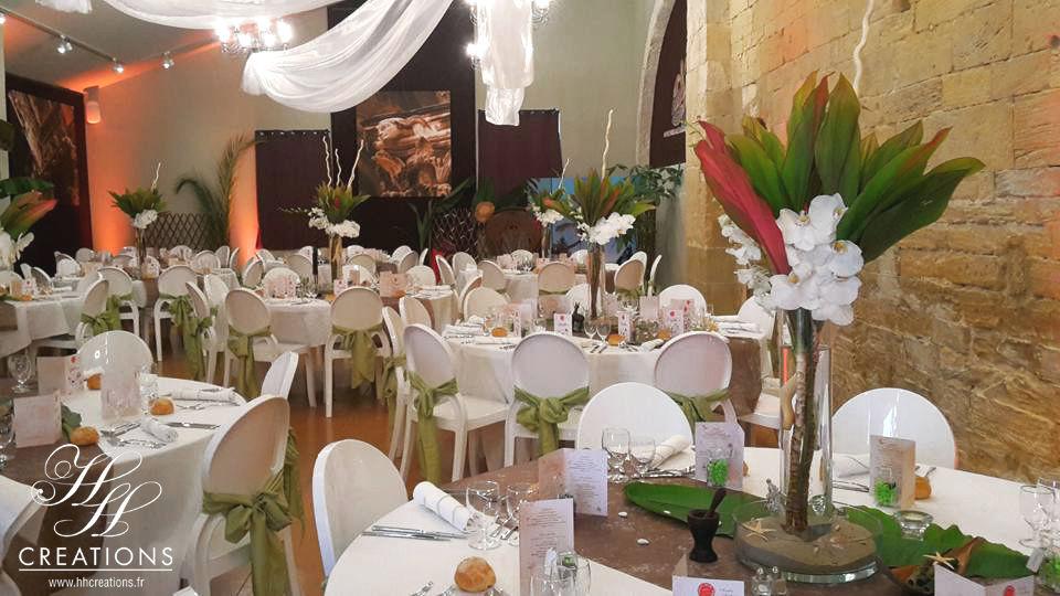 Mariage Exotique Décoration - Créations florales -  Cérémonie laïque  www.hhcreations.fr