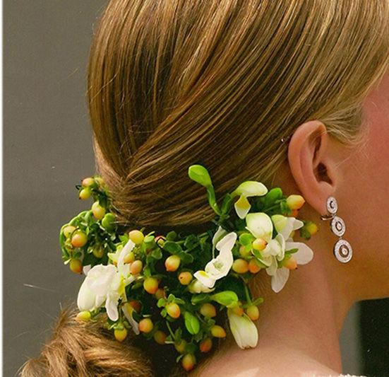 Tocados y adornos florales