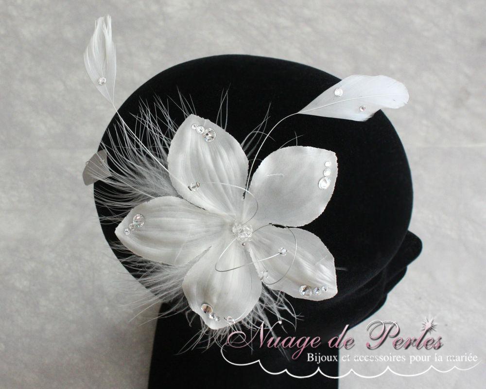 Bijoux de cheveux pour coiffure de mariée