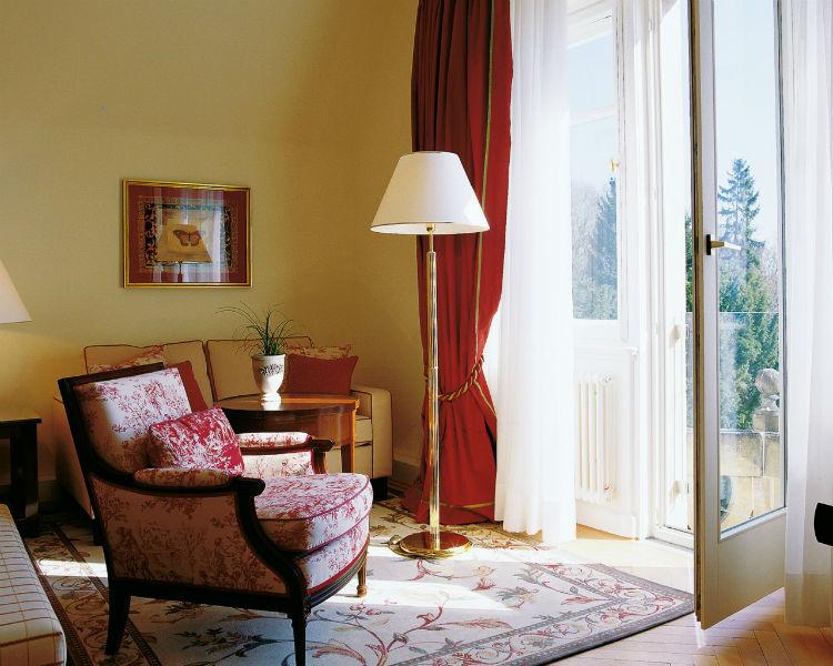Beispiel: Hotelzimmer, Foto: Villa Rothschild.