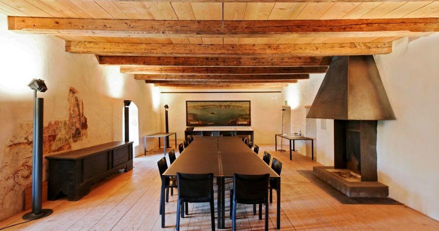 Beispiel: Eindruck von den Räumlichkeiten, Foto: St. Petersinsel Restaurant & Klosterhotel.