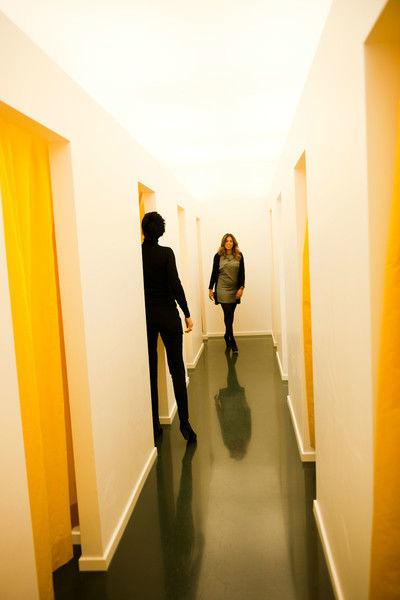 Beispiel: Kabinen, Foto: Wax in the City Düsseldorf.