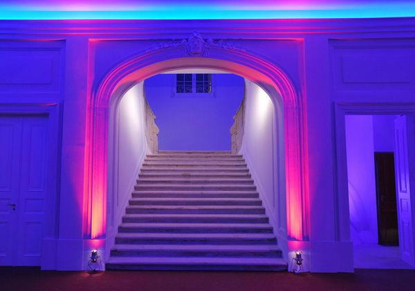Beispiel: Treppenaufgang, Foto: Kurländer Palais.