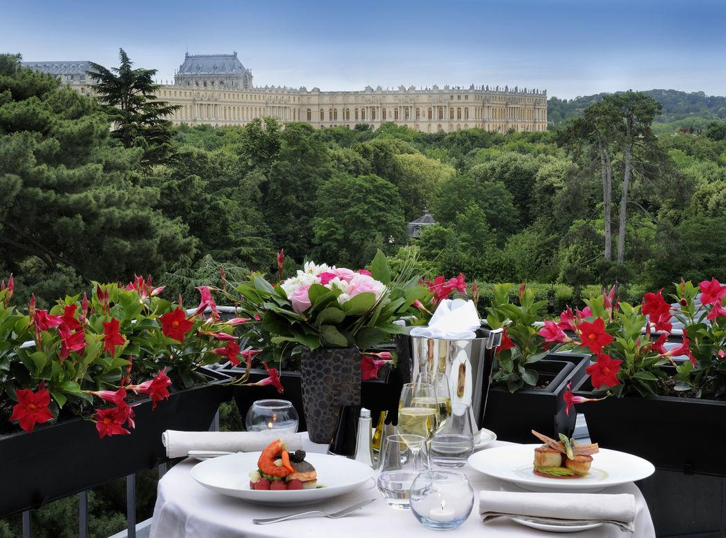 Vue sur le Château de Versailles - Suite Terrasse