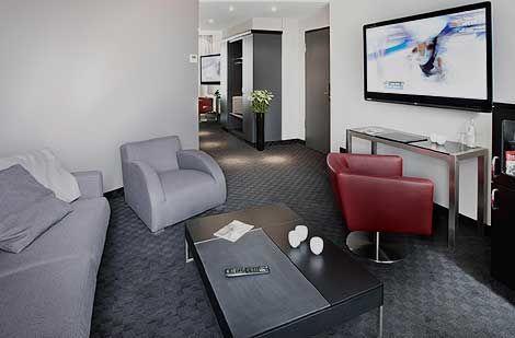 Beispiel: Zimmer, Foto: Hotel New Berlin.