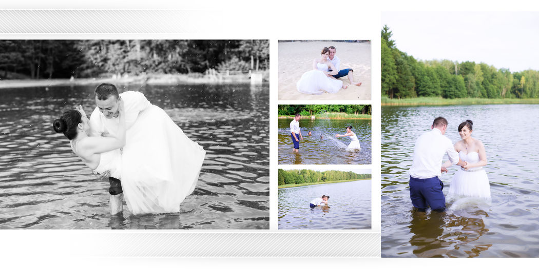 przykładowa strona z fotoalbumu - nasze albumy odznaczają się bardzo wysoką jakością wykonania