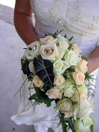 Beispiel: Die Blumen für Ihren großen Tag, Foto: Vergiß mein nicht.
