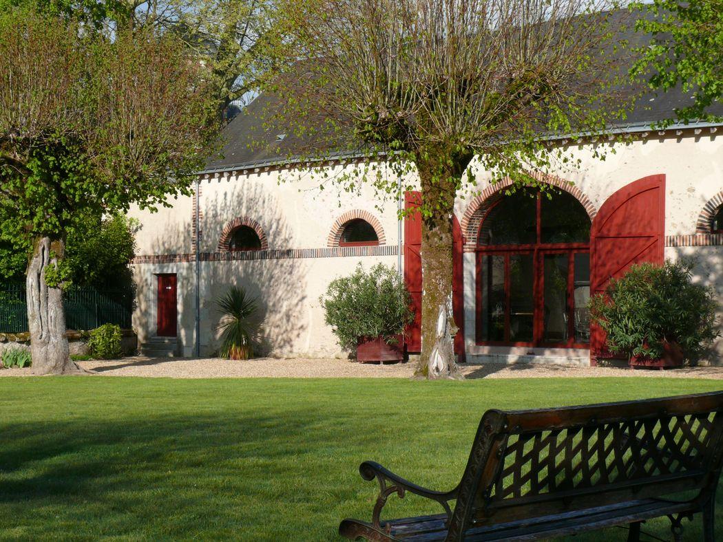 Le Domaine de la Bergerie Vue Salle extérieur