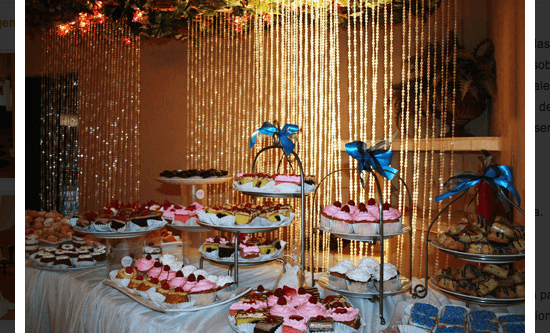 Salón para eventos - Foto La Villa