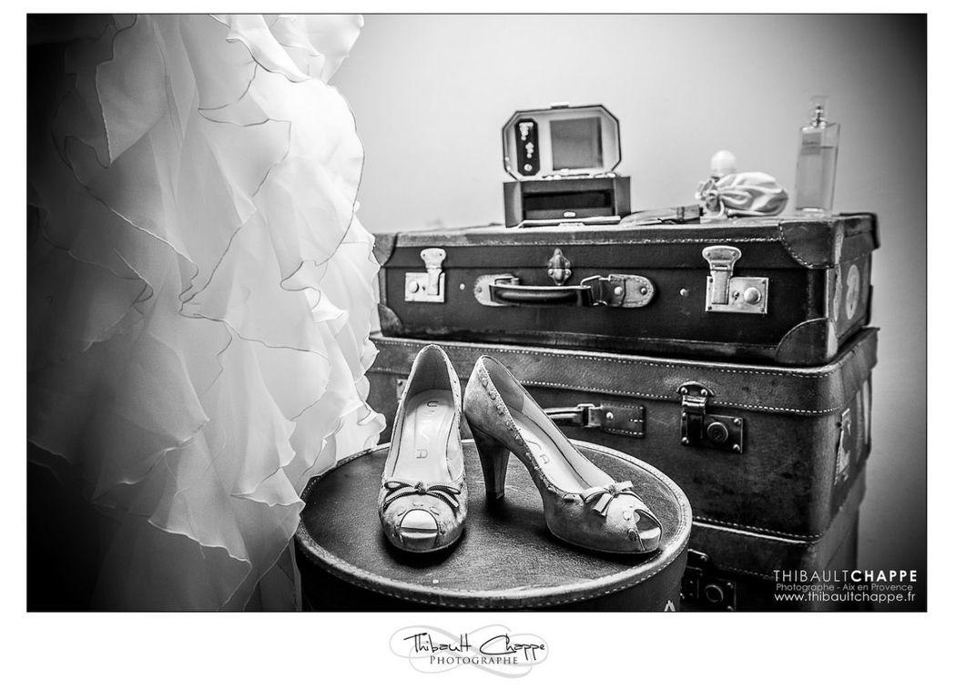 Détails des praparations en attente de la mariée