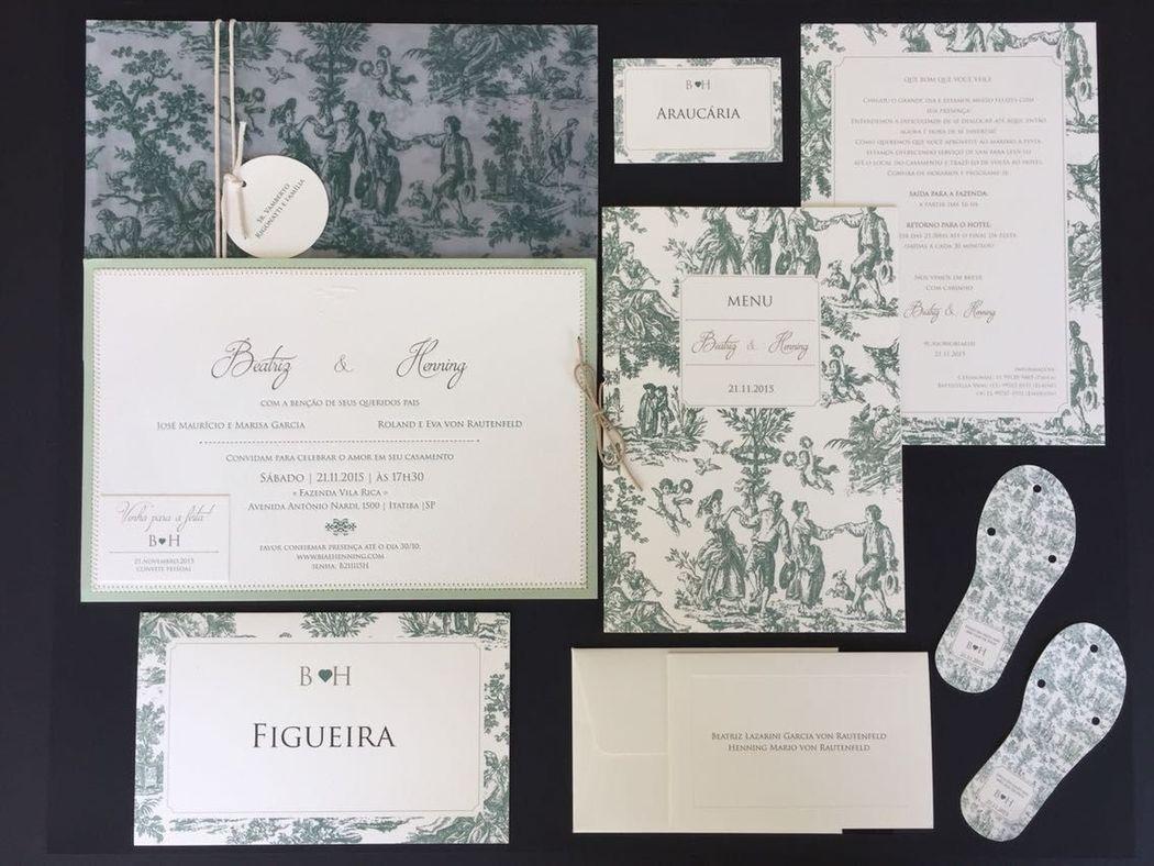 Casamento no campo | Estampa