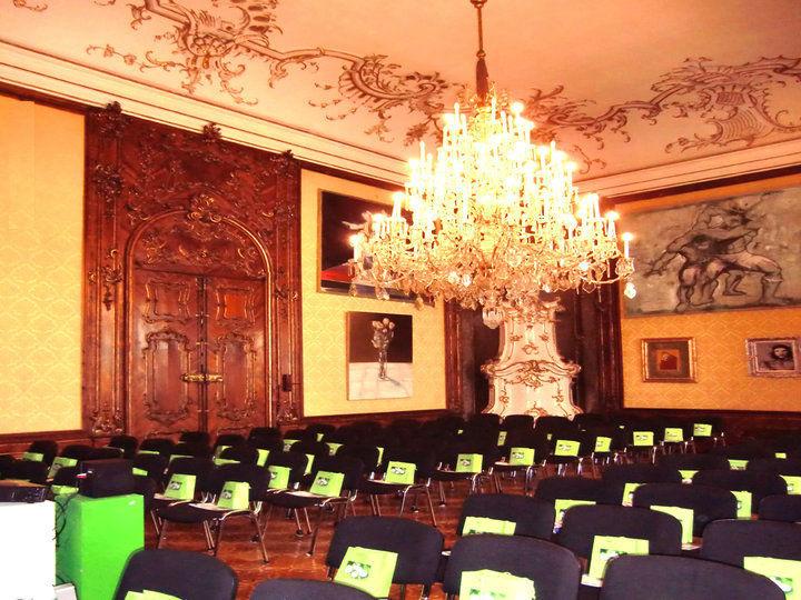 Beispiel: Gelber Saal, Foto: Moya Vienna.