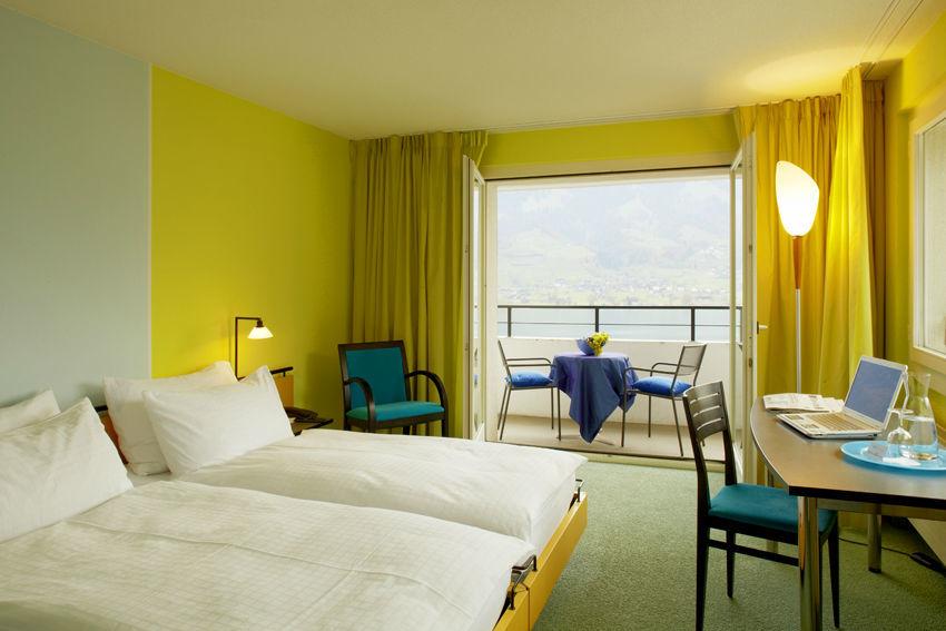 Beispiel: Hotelzimmer, Foto: Seehotel Wilerbad.