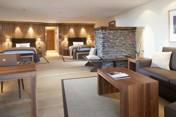 Beispiel: Lodge, Foto: Interalpen Hotel.