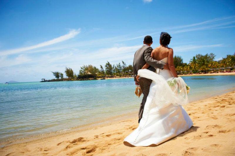 Beispiel: Heiraten in Traumkulisse, Foto: LUX*Resorts.