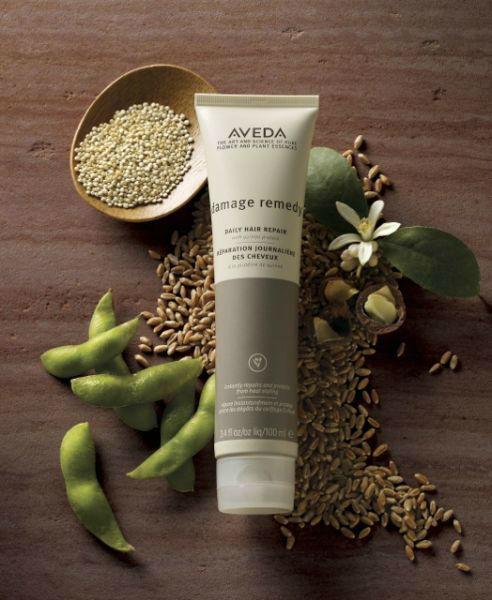 Beispiel: Hochwertige Haarpflegeprodukte von Aveda, Foto: Oliver Gerbert Haare.