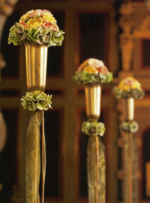 Beispiel: Kirchenschmuck, Foto: Florales Ambiente.