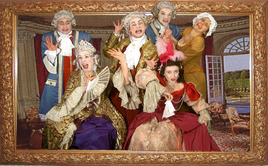 La Famille Aristomaniac's (version à 6 personnages)