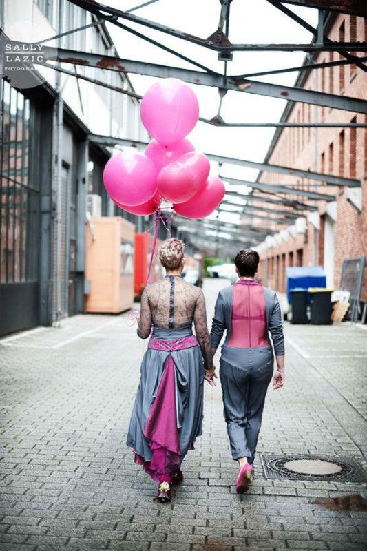 Beispiel: Brautpaare, Foto: La Mode Abyssale.