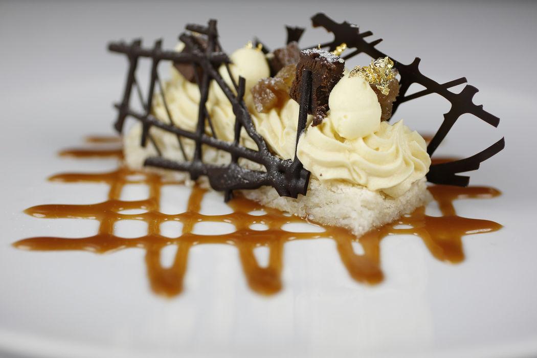 Fantaisie de truffe au chocolat.