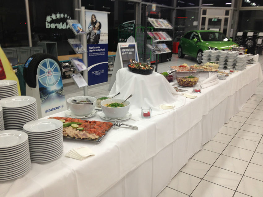 Buffet, Foto: Exclusiv Catering.