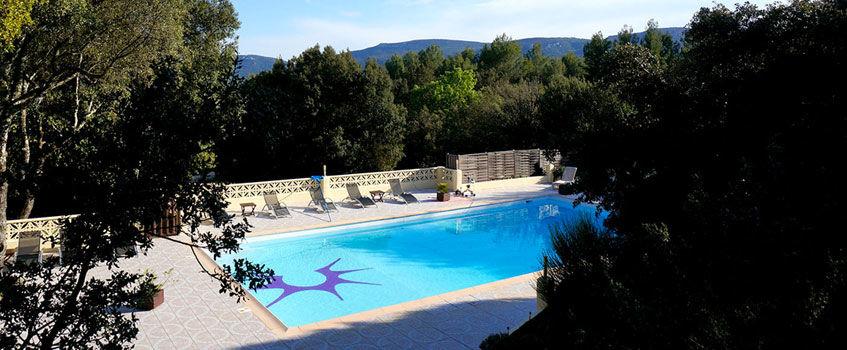 La piscine -  Domaine Les Soleiades