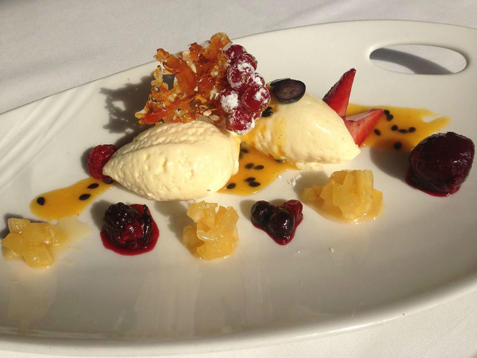 Beispiel: Dessert, Foto: Frankfurter Botschaft.
