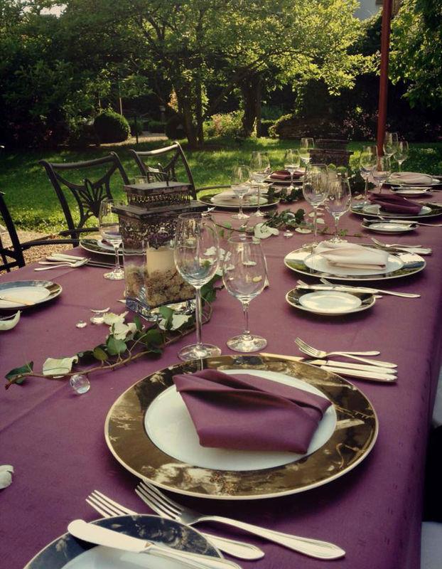 Beispiel: Terrasse, Foto: Weinromantikhotel Richtershof.