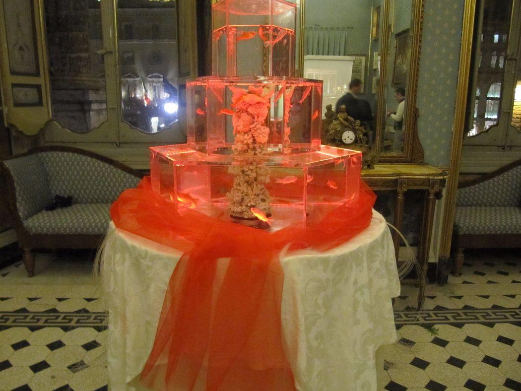 Festa di compleanno in rosso