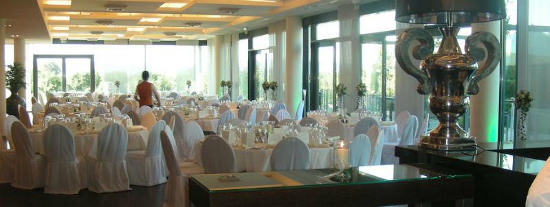 Beispiel: Hochzeitstafel, Foto: Atrium Mainz.