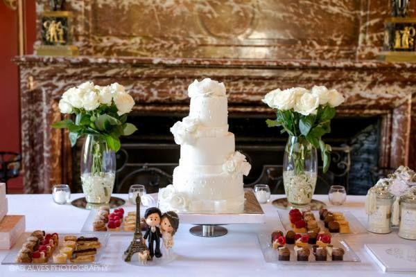 Mariage au château d'Esclimont