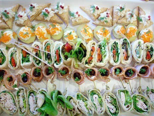 Beispiel: Finger Food, Foto: A Tavola.